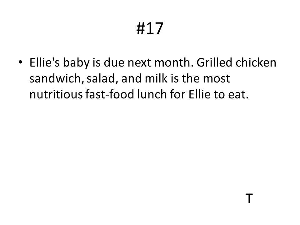 #17 Ellie s baby is due next month.