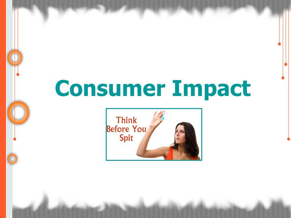 Consumer Impact