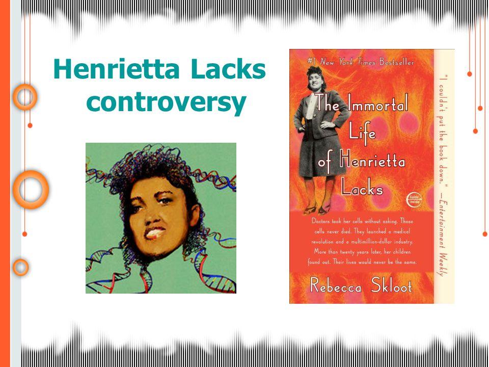 Henrietta Lacks controversy