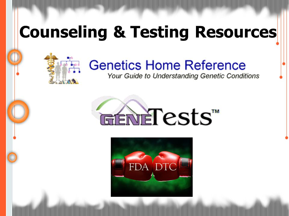 Counseling & Testing Resources