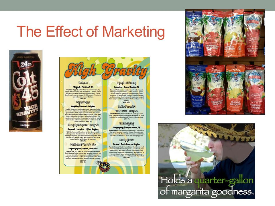 The Effect of Marketing