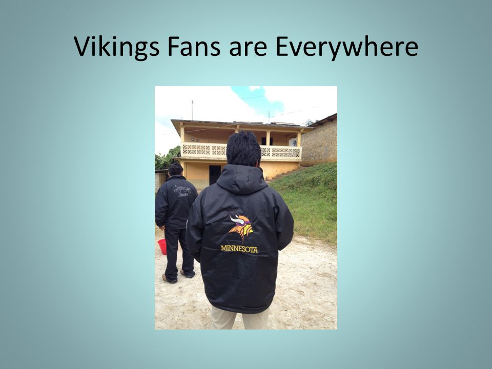 Vikings Fans are Everywhere