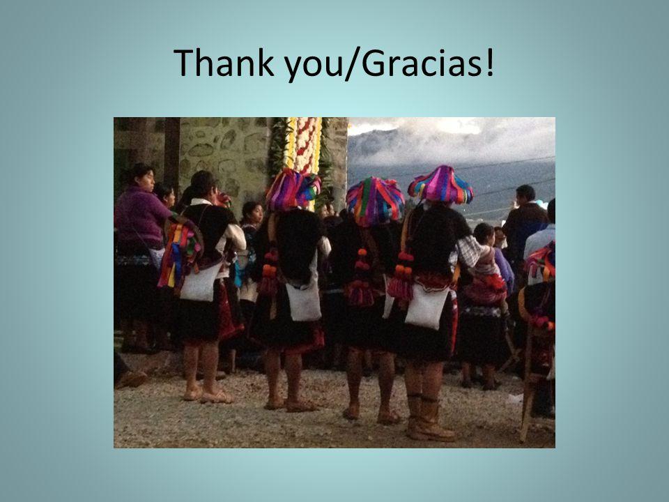 Thank you/Gracias!