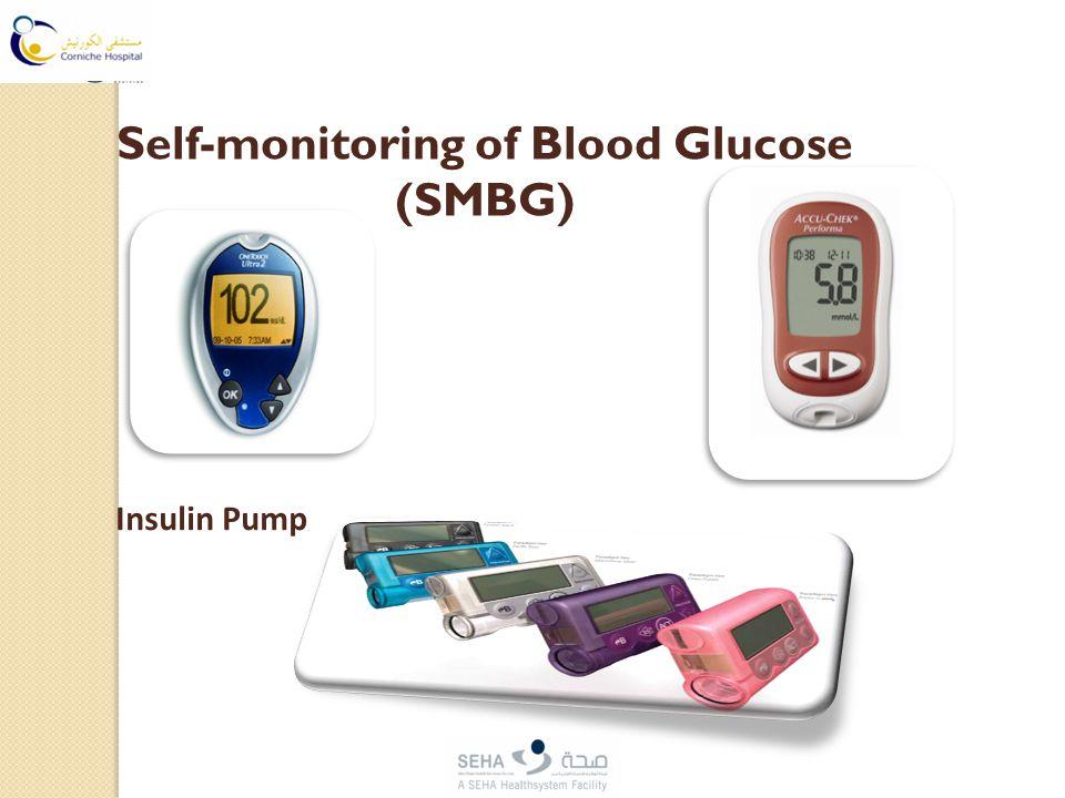 Self-monitoring of Blood Glucose (SMBG) Insulin Pump