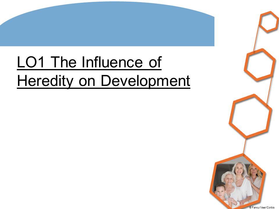 © Fancy/Veer/Corbis LO1 The Influence of Heredity on Development
