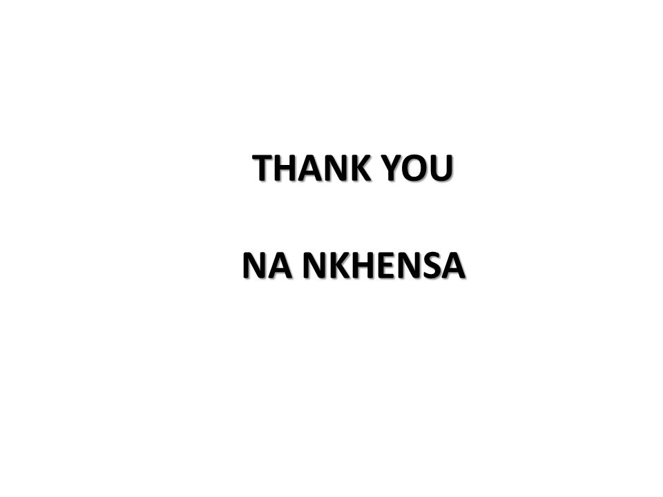 THANK YOU NA NKHENSA