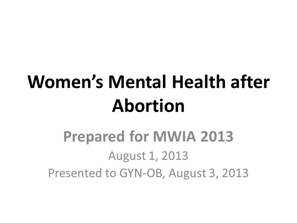 Recap of APA 2008, Risk Factors that apply to Donna and Melody 1.Terminating a pregnancy that is wanted or meaningful.