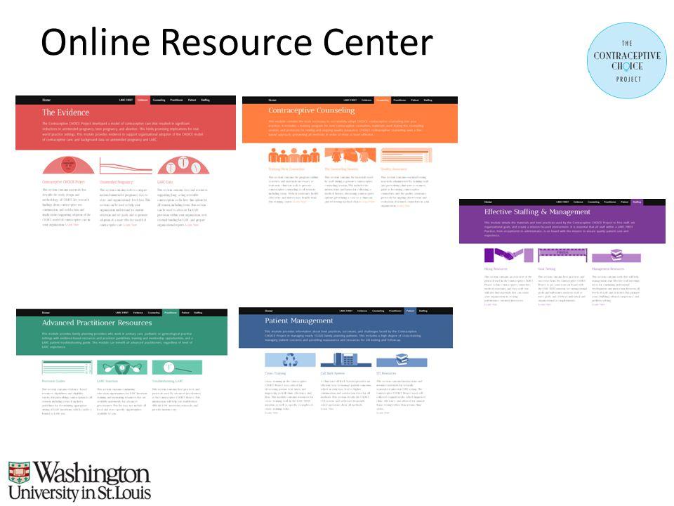 Online Resource Center
