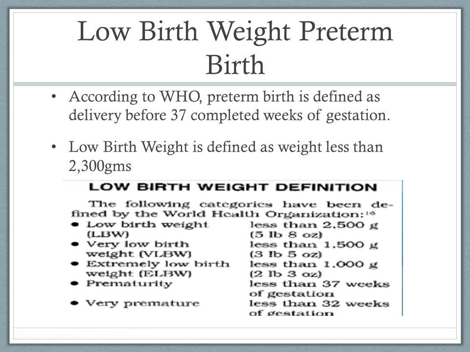 Pathophysiology of Preterm Birth