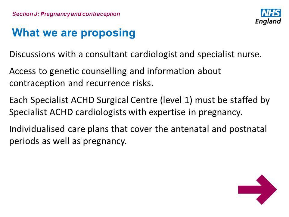 What we are proposing Discussions with a consultant cardiologist and specialist nurse.