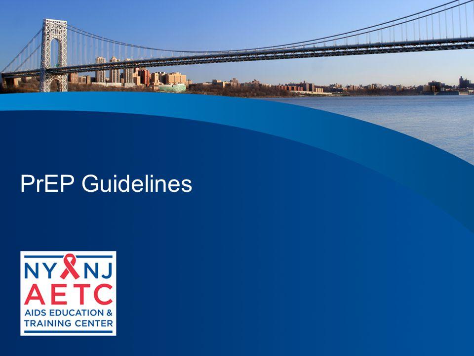 PrEP Guidelines