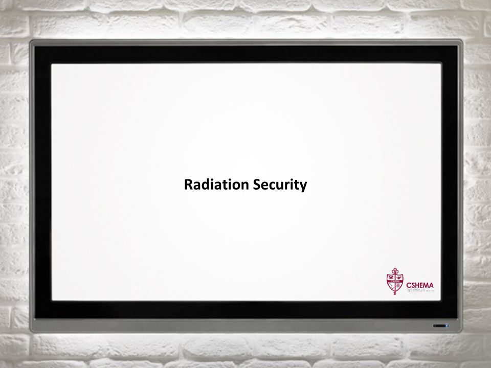 Radiation Security