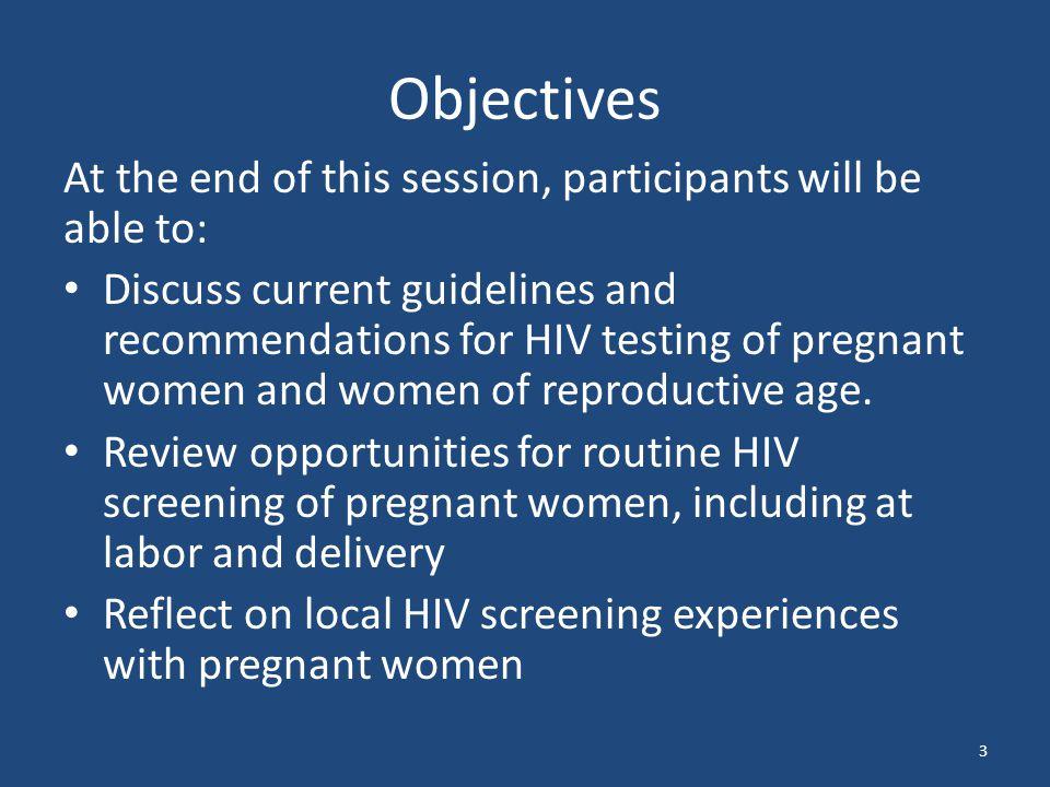 Advances in HIV Testing 34