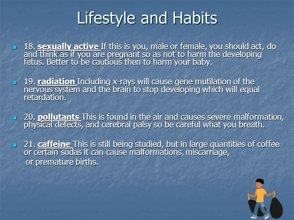 Lifestyle and Habits 18.