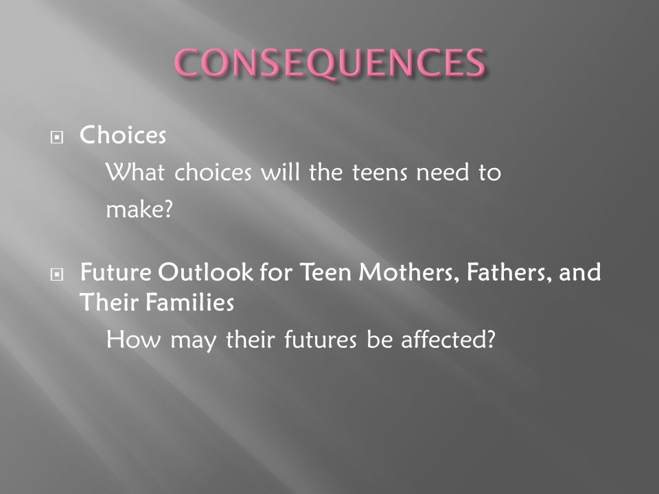  Abstinence  Contraception  Knowledge. It can happen to anyone.