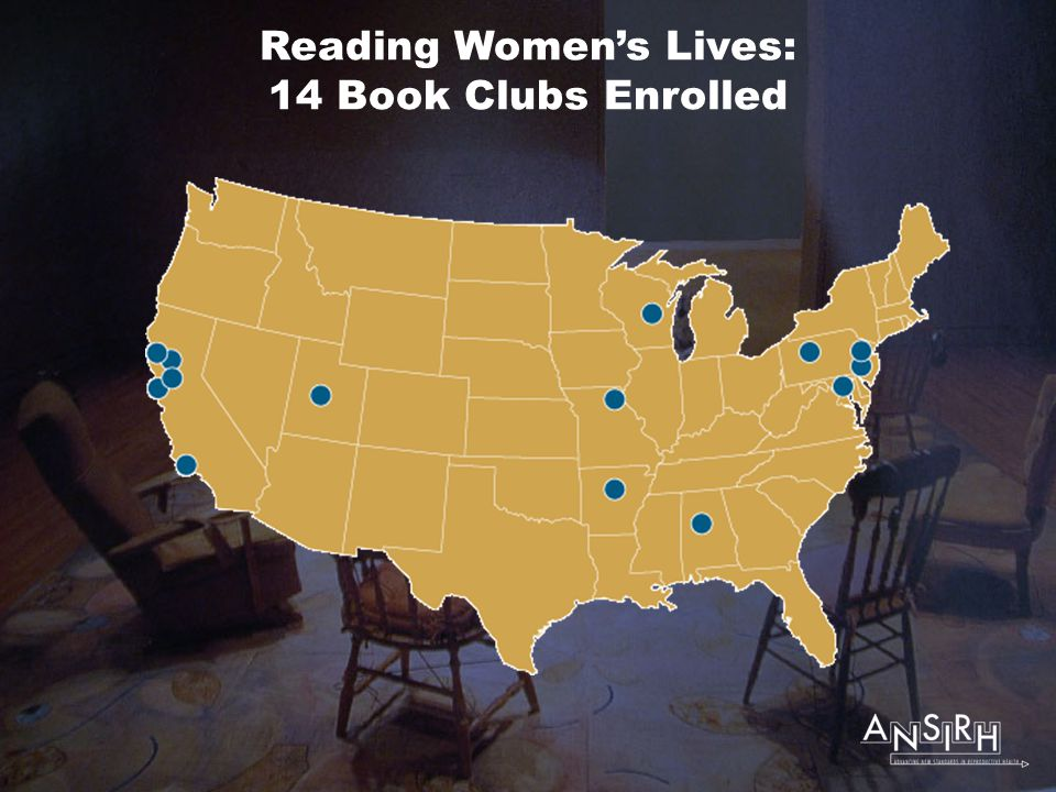 Reading Women's Lives: 14 Book Clubs Enrolled