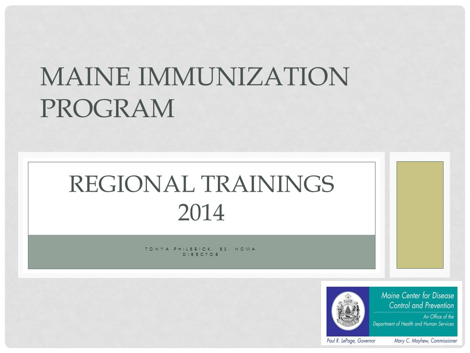 IMMUNIZATION RATES MAKE YOUR SHOT COUNT