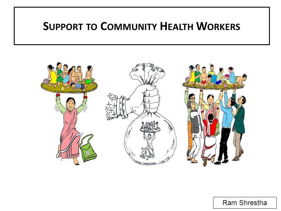 S UPPORT TO C OMMUNITY H EALTH W ORKERS Ram Shrestha