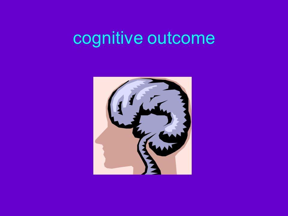cognitive outcome