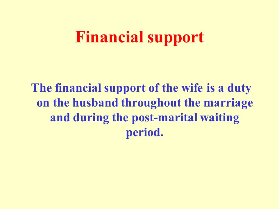 The maintenance standard is determined by the financial capability of the husband and the wife s condition.