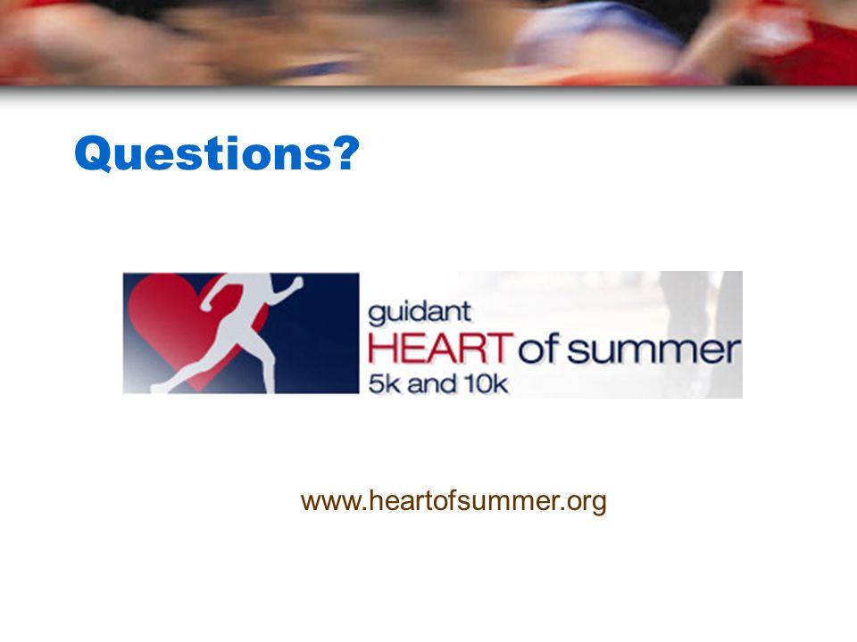 Questions www.heartofsummer.org