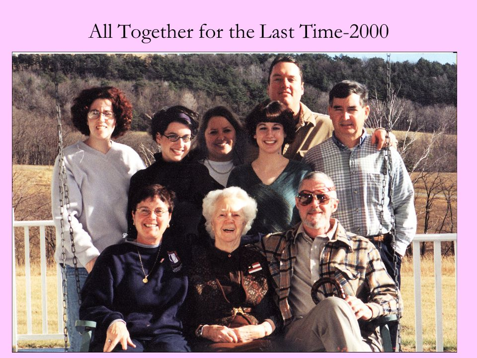 All Together for the Last Time-2000