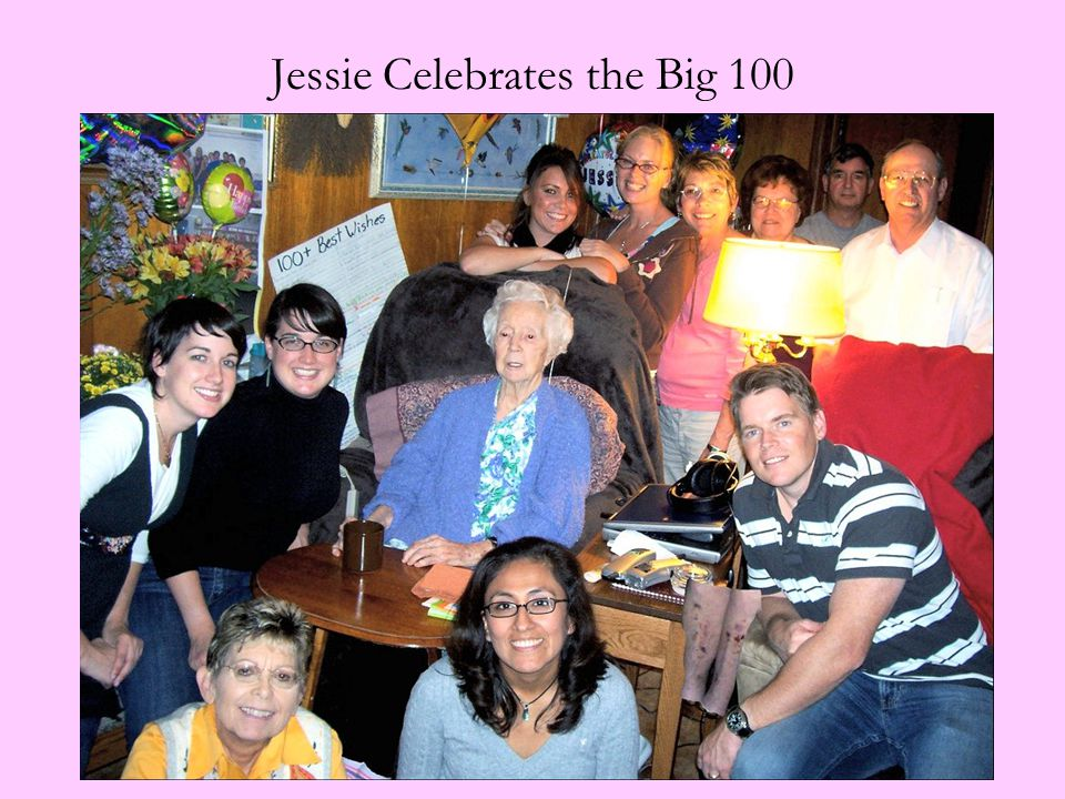 Jessie Celebrates the Big 100