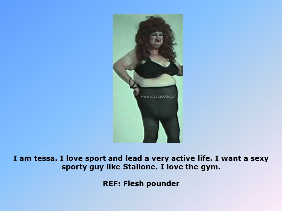 I am tessa. I love sport and lead a very active life.