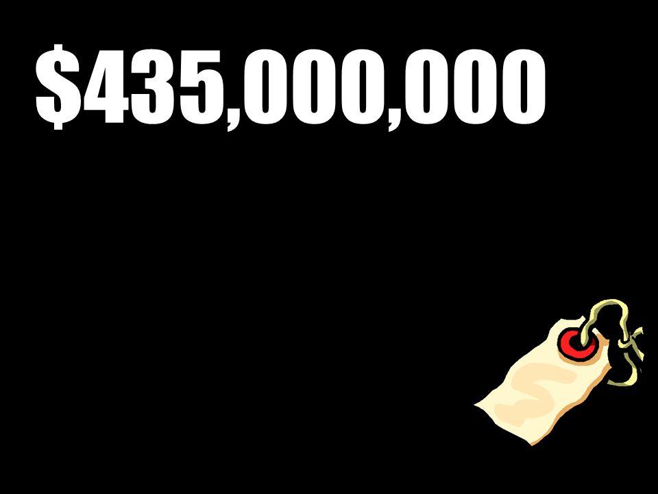 $435,000,000
