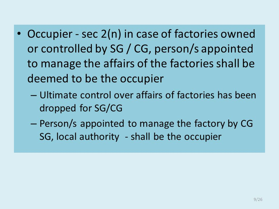 6 Approval, Licencing and registration - – (extended factory ) Replacement of plant and machinery which dose not reduce minimum clear space, required for safe working around the plant or machinery or adversely affect environmental condition from the evolution of emission of steam or dust or fumes injurious to health – ……….