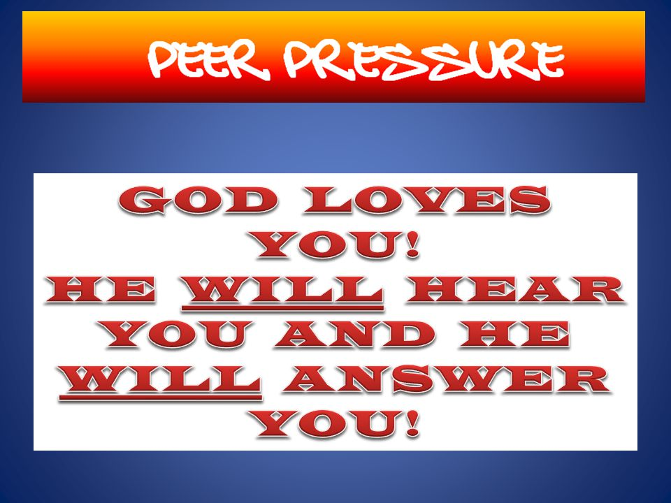 Sometimes His answers are quick and sometimes they are not – but if you really believe that God is able to solve all problems, you WILL get an answer.