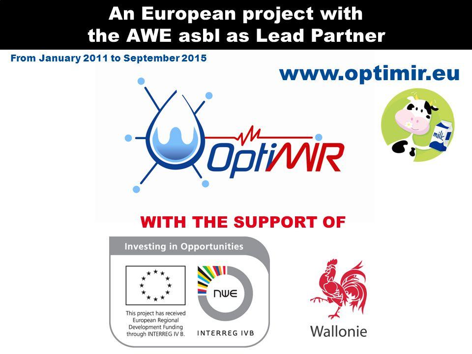 11 milk recording organizations EUROPEAN PARTNERSHIP 1 laboratory 6 research centres and universities