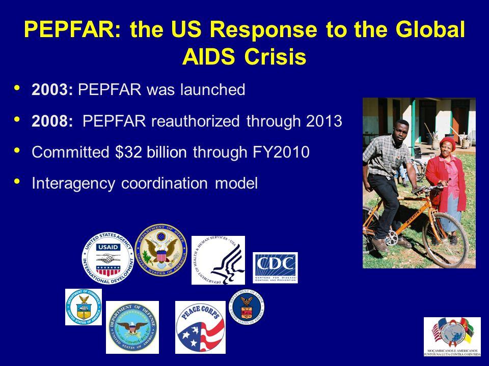 PEPFAR Mozambique Organization and Coordination Interagency initiative lead by U.S.