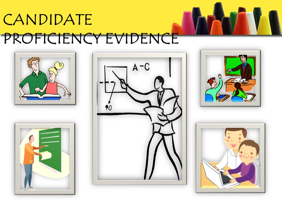 CANDIDATE PROFICIENCY EVIDENCE