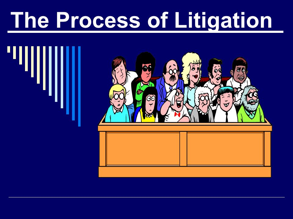 What is the first stage in a civil lawsuit ?  Service of Process (the summons)