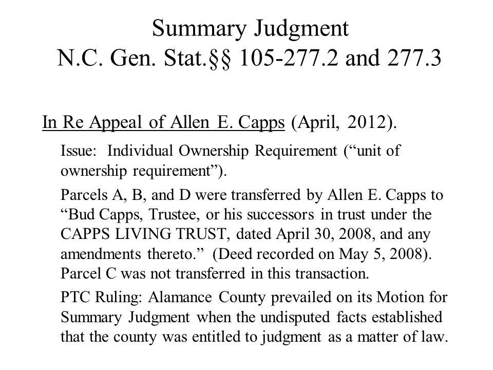 Motion to Dismiss N.C.Gen. Stat.