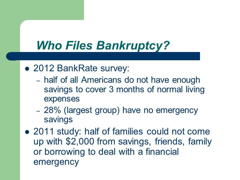 Consumer Bankr.Project, 3 Harv. L. & Pol y Rev.
