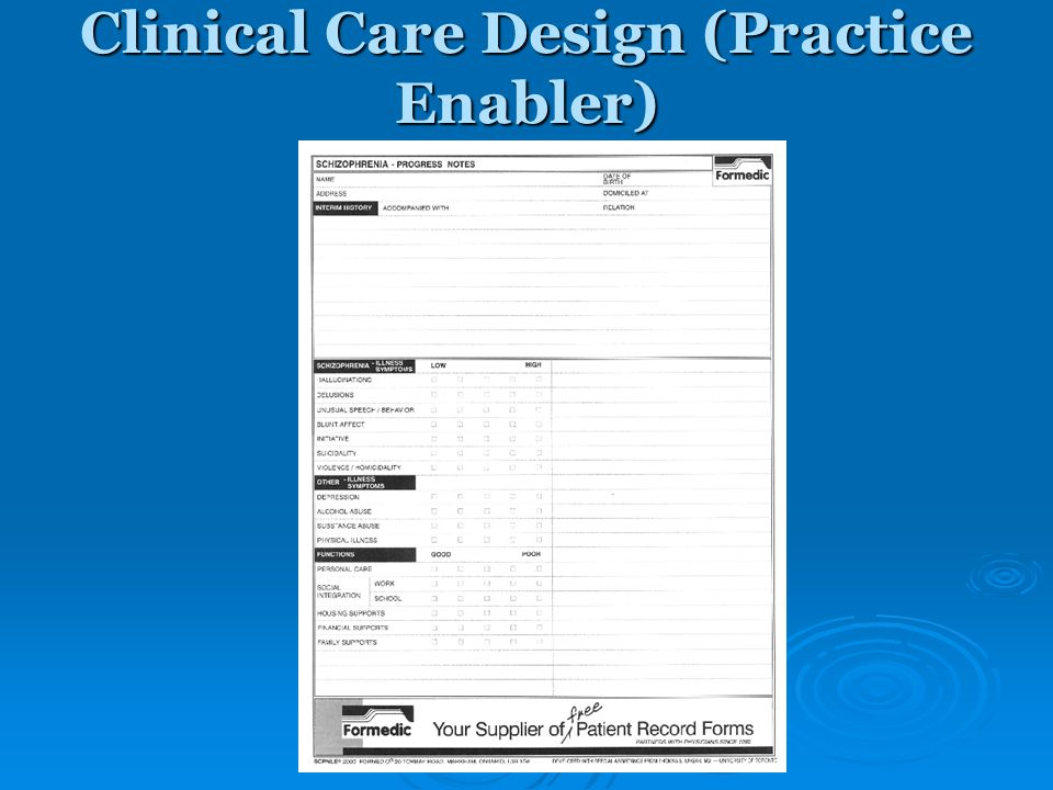 Clinical Care Design (Practice Enabler)