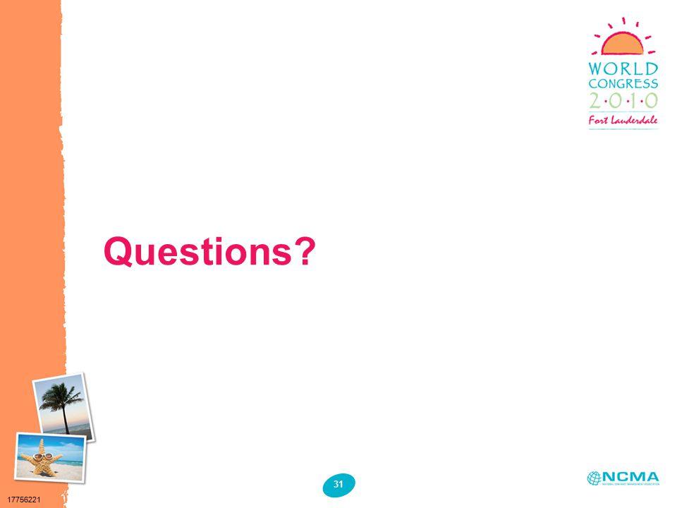 17756221 31 Questions