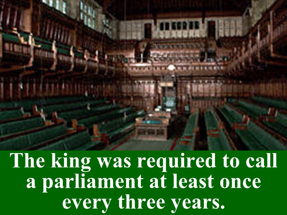 Parliament abolished the Court of High Commission and the Court of Star Chamber.