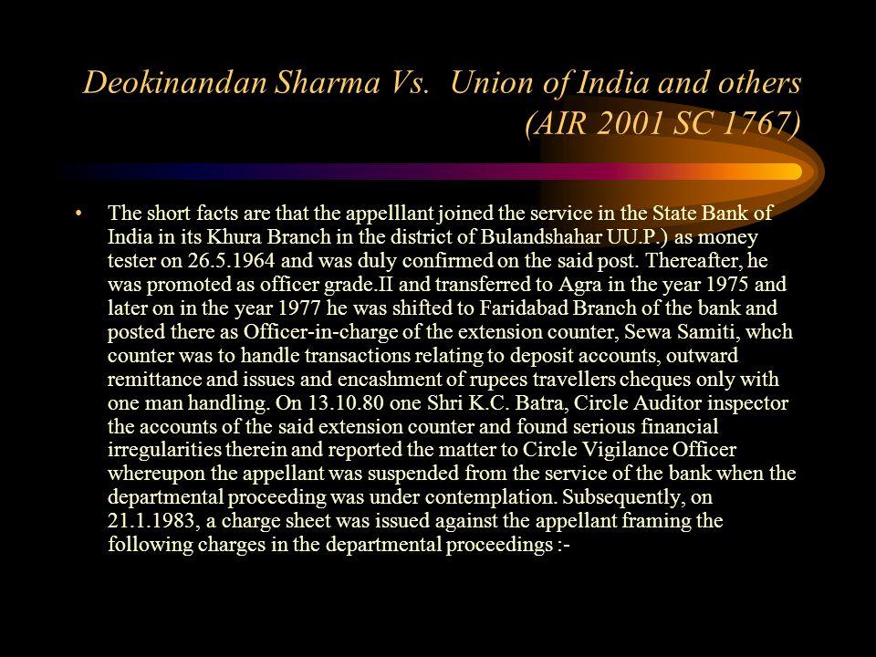 State of Gujarat Vs. Emedbhai M. Patel (AIR 2001 SC 1109) Constitution of India, Art.
