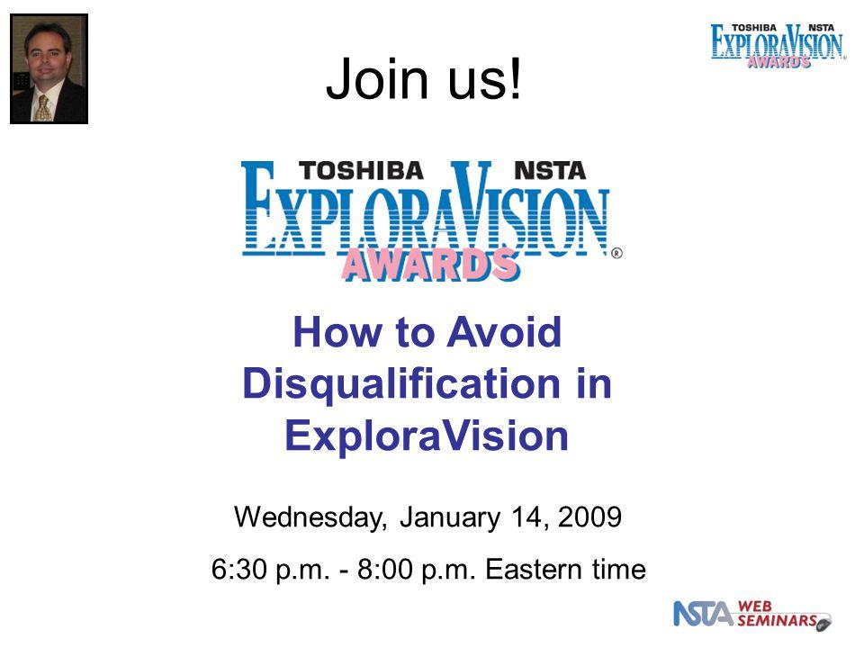 Wednesday, January 14, 2009 6:30 p.m. - 8:00 p.m.