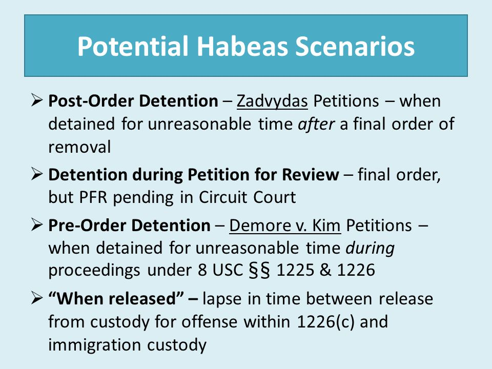 Habeas Q & A (con t) Must I file an appendix or other attachments to the memorandum.