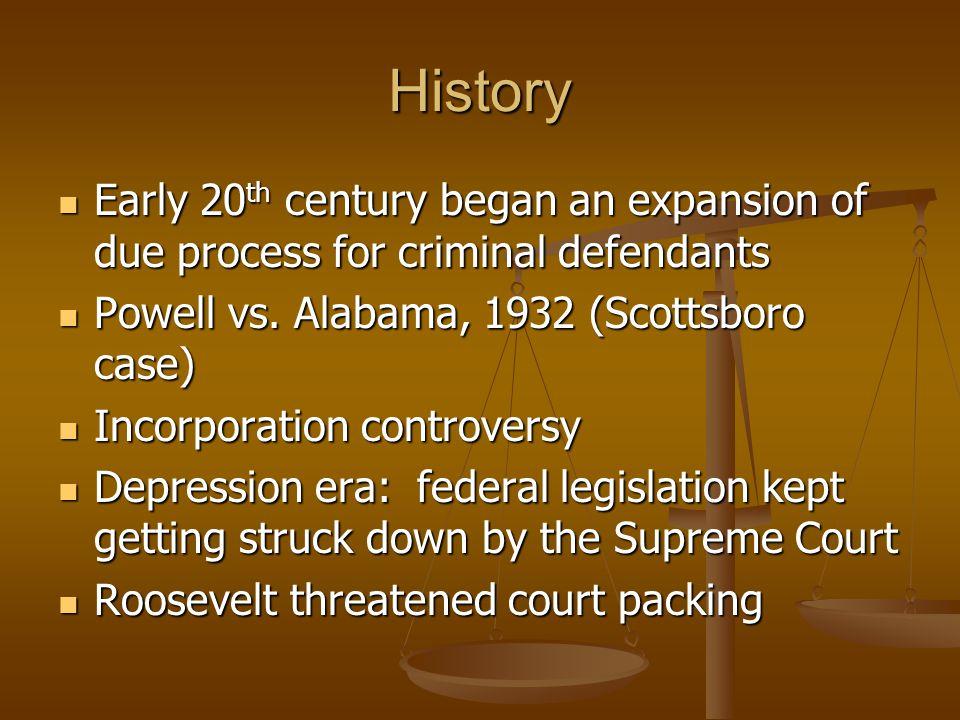 History Court backed down Court backed down 1950s, Warren court, civil rights revolution 1950s, Warren court, civil rights revolution Brown v.