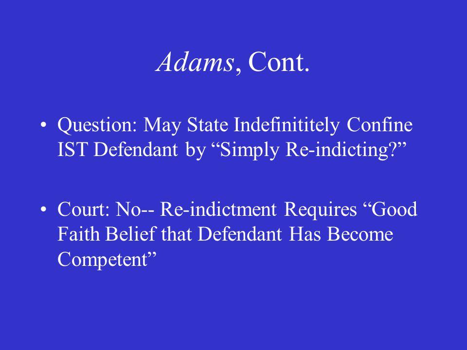 Adams, Cont.