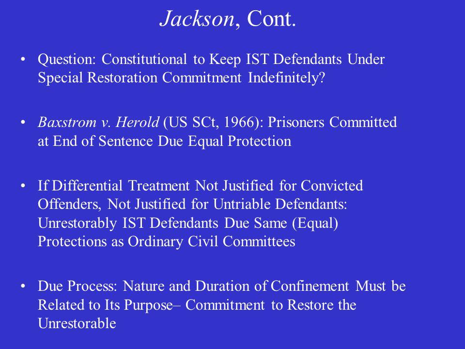 Jackson, Cont.