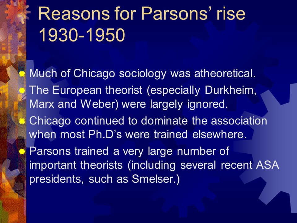 Reasons for his fall 1960-1980  His theory was mainly an elaborate conceptual scheme – a language.