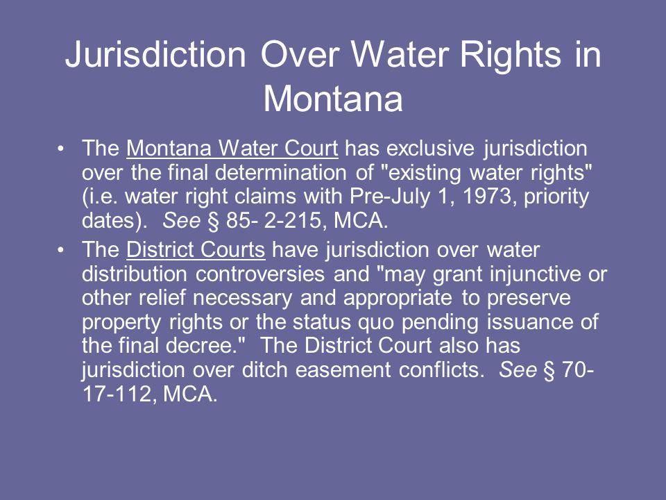 Confederated Salish and Kootenai Tribes v.Clinch, 297 Mont.