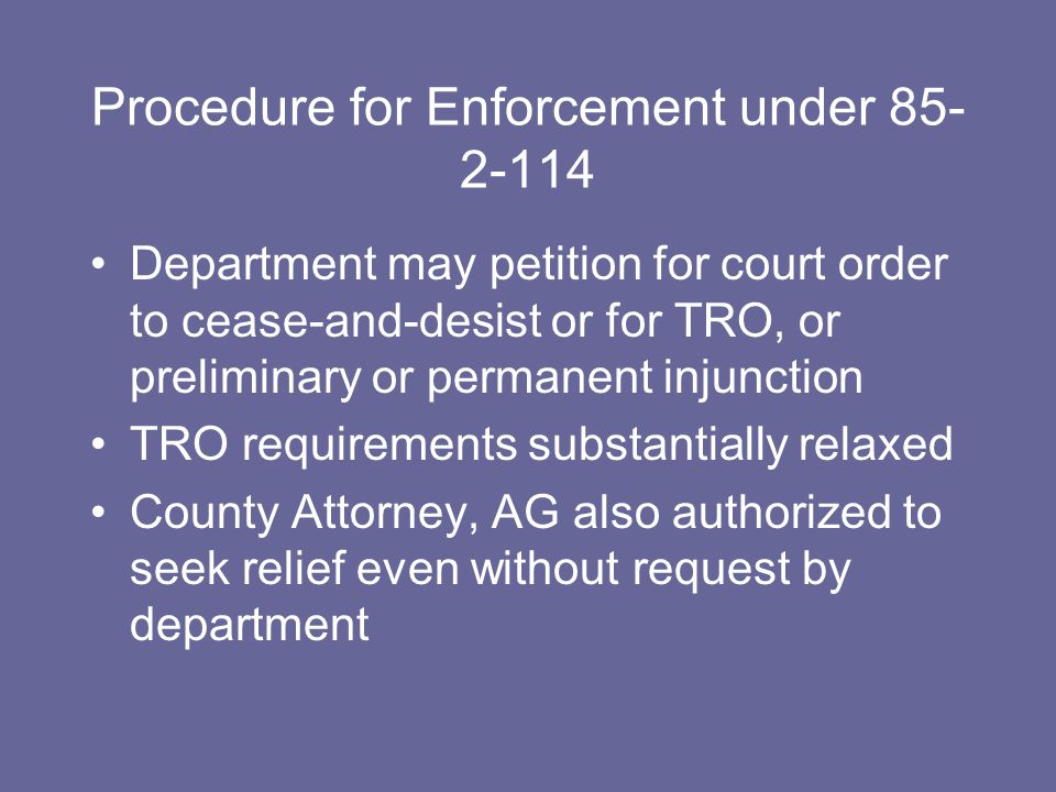 27-19-316.Contents and filing of restraining order granted without notice.