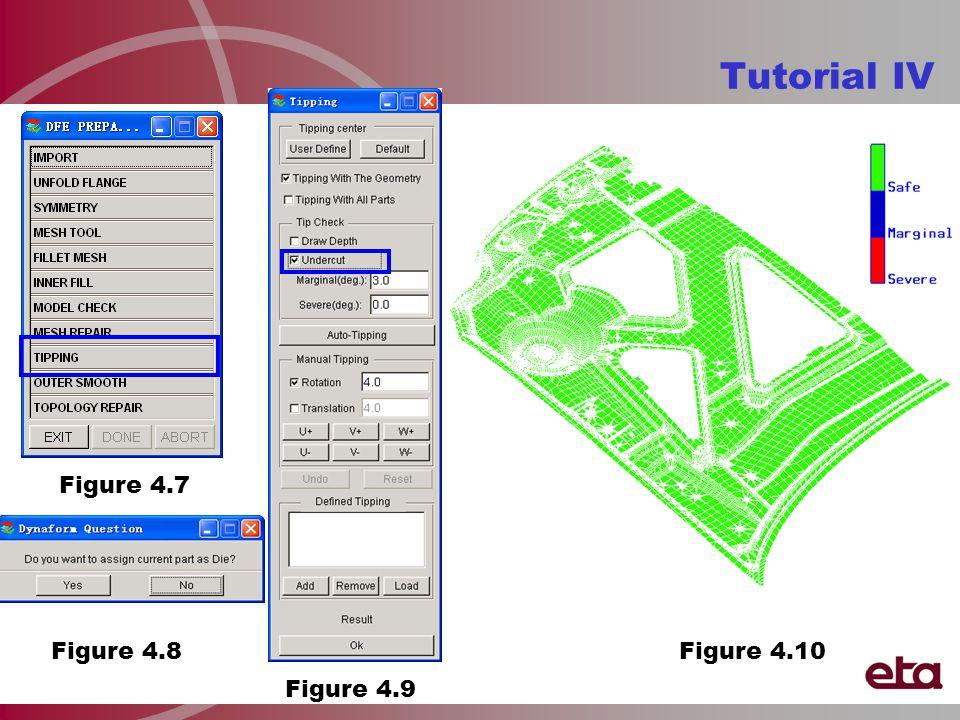 Tutorial IV Figure 4.7 Figure 4.8 Figure 4.9 Figure 4.10